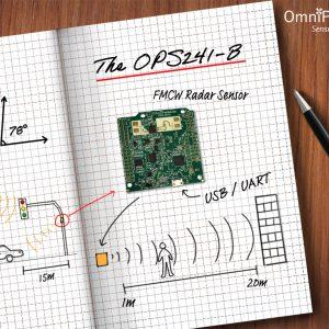 OPS242 Short Range Radar Sensor - OmniPreSense